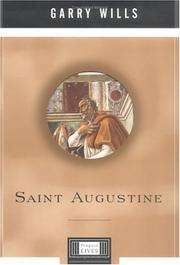 Cover of: Saint Augustine | Garry Wills