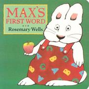 Cover of: Max's First Word (Max and Ruby) | Jean Little