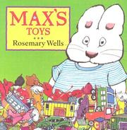 Cover of: Max's Toys (Max and Ruby)