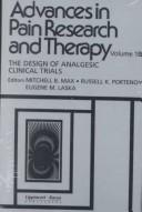 Cover of: The Design of analgesic clinical trials |