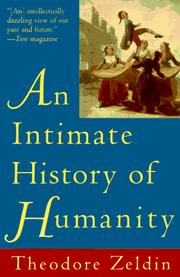 Cover of: Intimate History of Humanity, An