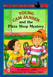 Cover of: Young Cam Jansen and the pizza shop mystery
