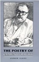 Cover of: The poetry of James Wright