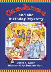 Cover of: Cam Jansen and the Birthday Mystery