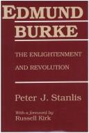 Cover of: Edmund Burke | Peter J. Stanlis