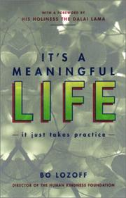 Cover of: It's a Meaningful Life