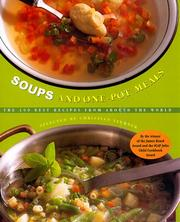 Cover of: Soups and One-Pot Meals