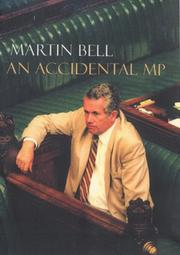 Cover of: An accidental MP
