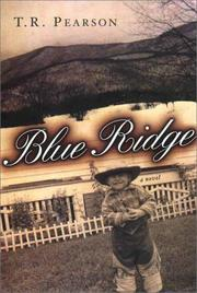 Cover of: Blue Ridge | T. R. Pearson