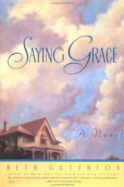Cover of: Saying Grace