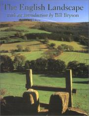 Cover of: The English Landscape