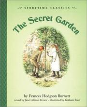 Cover of: secret garden | Janet Allison Brown