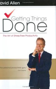 Cover of: Getting Things Done | David Allen