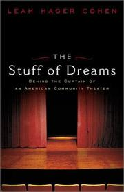 Cover of: The stuff of dreams