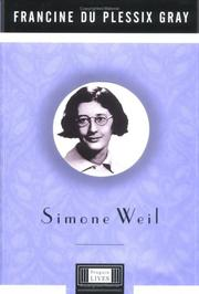 Cover of: Simone Weil