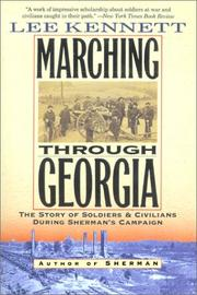 Cover of: Marching Through Georgia
