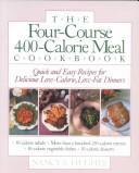 The four-course, 400-calorie meal cookbook