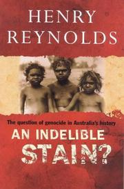 Cover of: An indelible stain?