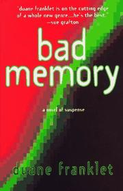Cover of: Bad memory
