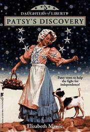 Cover of: Patsy's discovery