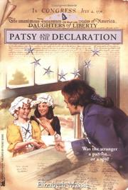 Cover of: Patsy and the Declaration
