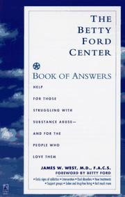 Cover of: The Betty Ford Center book of answers