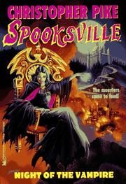 Cover of: Night of the vampire | Christopher Pike