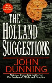 Cover of: The Holland Suggestions
