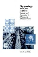 Cover of: Technology of our times |