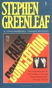 Cover of: False Conception (John Marshall Tanner Mysteries