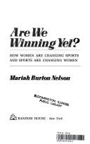 Cover of: Are we winning yet?