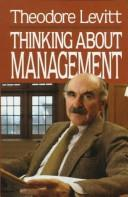 Cover of: Thinking about management