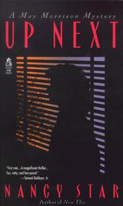 Cover of: Up Next (May Morrison Mysteries)