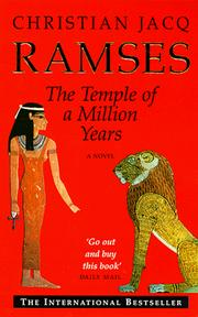 Cover of: The Temple of a Million Years (Ramses)