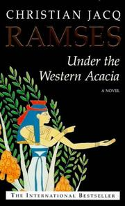Cover of: Under the Western Acacia (Ramses)