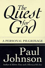 Cover of: The Quest for God