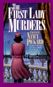 Cover of: The First Lady Murders
