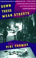 Cover of: Down these mean streets