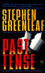 Cover of: PAST TENSE (John Marshall Tanner Mysteries)