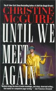 Cover of: Until we meet again