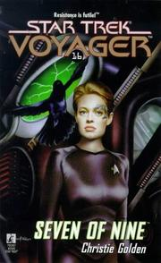 Cover of: Seven of Nine | Christie Golden
