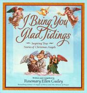 Cover of: I bring you glad tidings: inspiring true stories of Christmas angels