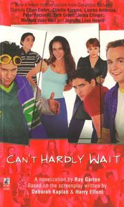 Cover of: Cant Hardly Wait | Ray Garton