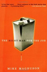Cover of: The Right Man for the Job | Mike Magnuson