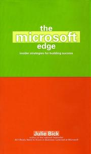 Cover of: The Microsoft Edge