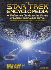 Cover of: The Star trek encyclopedia | Michael Okuda