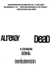 Cover of: Already Dead: A California Gothic