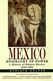 Cover of: Mexico | Enrique Krauze