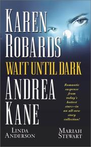 Cover of: Wait until dark