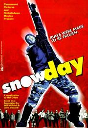 Cover of: Snowday: a novelization